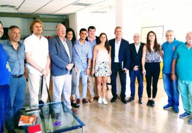 Reunión con la nueva Secretaria de Deportes de Nación Inés Arrondo