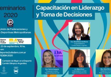 UFEDEM y el Comité Olímpico presentan «Liderazgo y Toma de Decisiones»