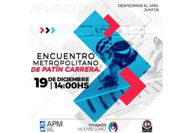 APM cierra el año con el Encuentro Metropolitano de Patín Carrera