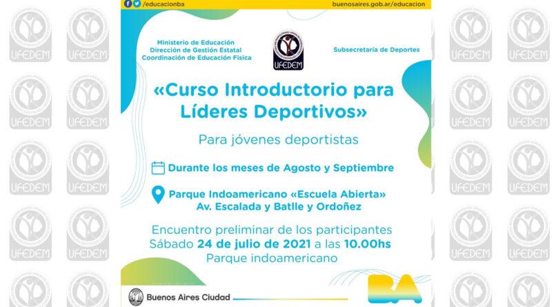Lanzamiento de Curso para Jóvenes Líderes Deportivos 1era Edición