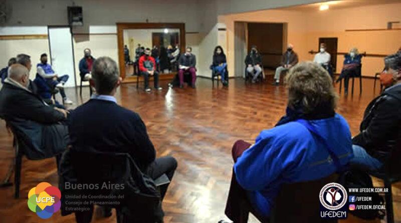 UFEDEM se reunió con Mesa de Deportes del CoPE para definir el trabajo en comisiones