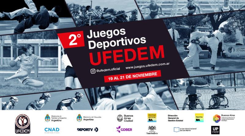Lanzamiento Oficial de los II Juegos UFEDEM 2021